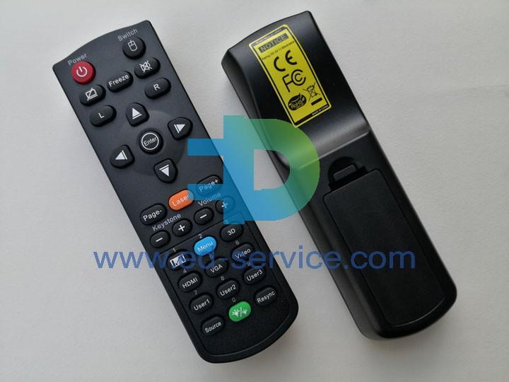 Projector Remote Control for ViewSonic  PJD6351LS PJD5151 PA503X PJD5155