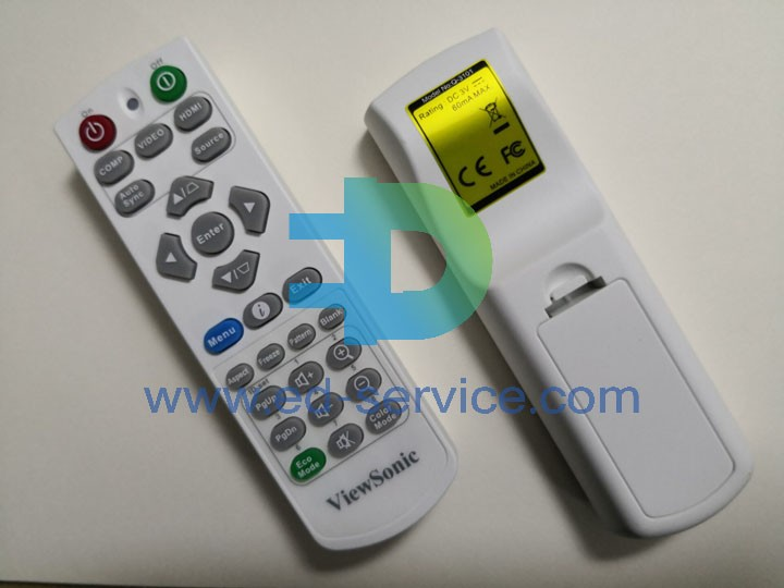 Projector Remote Control for ViewSonic  PX705HD PX747-4K PJD7525W PJD5153