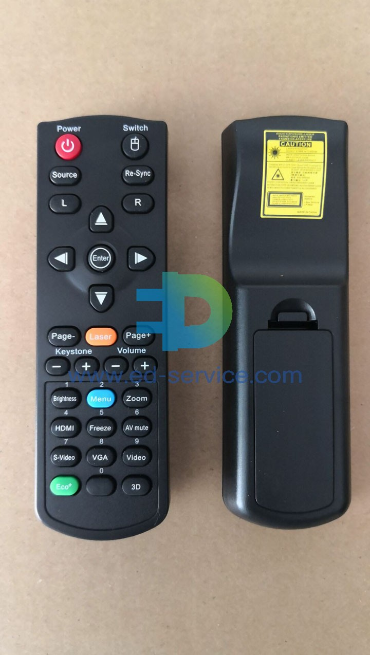 Projector Remote Control for ViewSonic  TS512A PX725HD VS15902 PJD5150