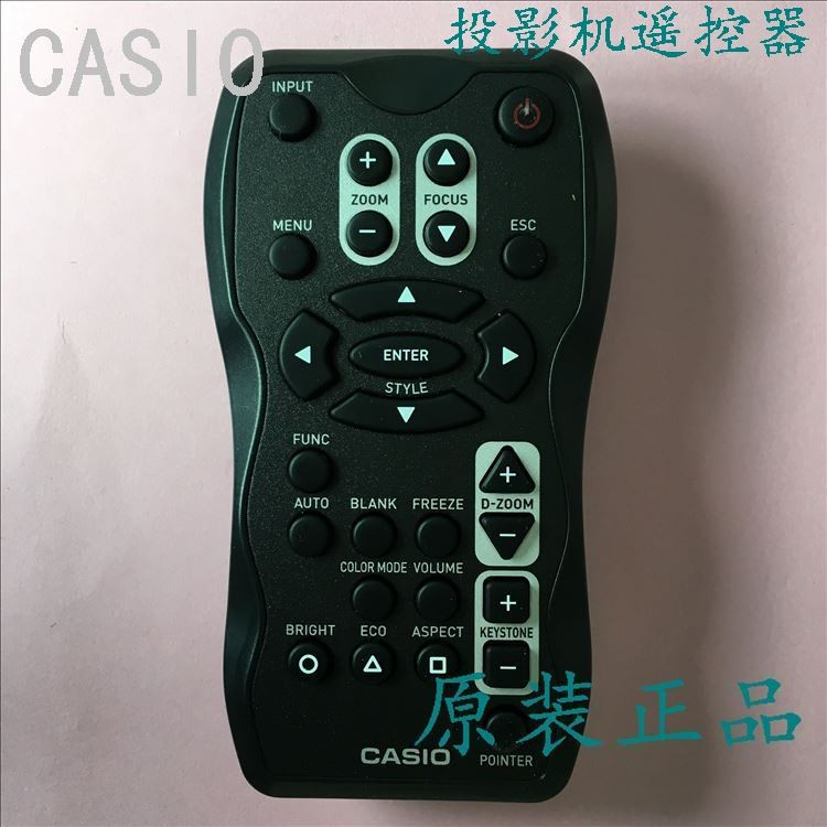 Projector remote control YT-100 for CASIO A155V